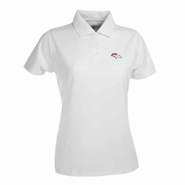 Denver Broncos Womens Exceed Polo (Color: White)