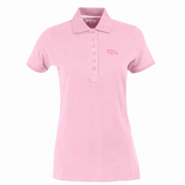 Denver Broncos Womens Spark Polo (Color: Pink)