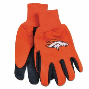 Denver Broncos Work Gloves (Adult)
