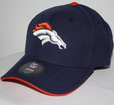 Denver Broncos Youth NFL Adjustable Navy Slouch Hat