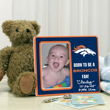 Denver Broncos Youth Picture Frame