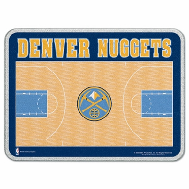Denver Nuggets 11 x 15 Glass Cutting Board