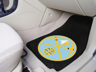 Denver Nuggets 2 Piece Car Mats
