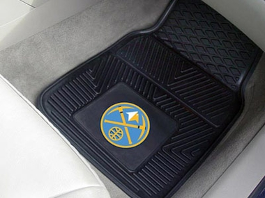 Denver Nuggets 2 Piece Heavy Duty Vinyl Car Mats