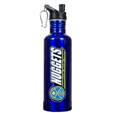 Denver Nuggets 26oz Stainless Steel Water Bottle (Team Color)