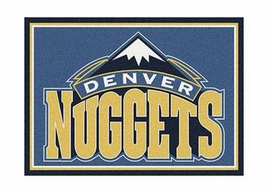 "Denver Nuggets 3'10"" x 5'4"" Premium Spirit Rug"