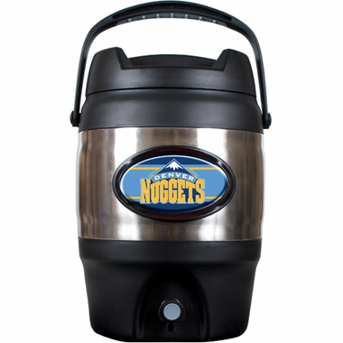 Denver Nuggets 3 Gallon Stainless Steel Jug