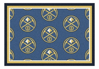 "Denver Nuggets 5'4"" x 7'8"" Premium Pattern Rug"