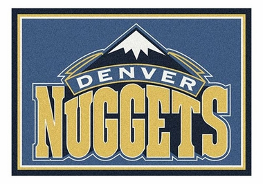 "Denver Nuggets 5'4"" x 7'8"" Premium Spirit Rug"