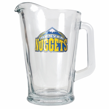 Denver Nuggets 60 oz Glass Pitcher