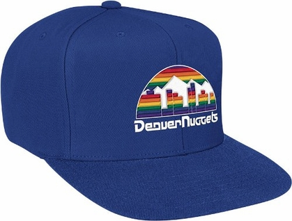 Denver Nuggets Basic Logo Snap Back Hat