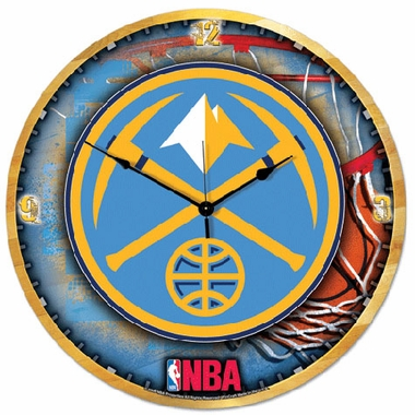 Denver Nuggets Big 18 Inch Hi Definition Clock