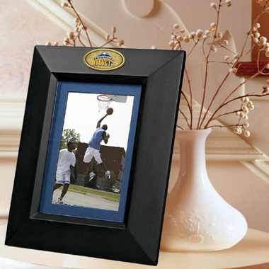 Denver Nuggets BLACK Portrait Picture Frame