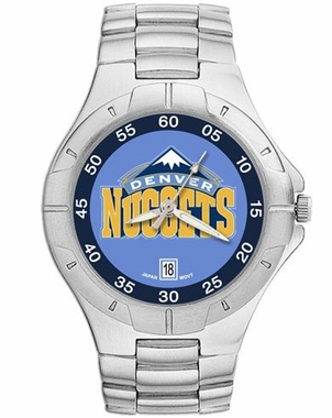 Denver Nuggets Pro II Men's Stainless Steel Watch