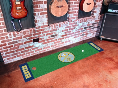 Denver Nuggets Putting Green Mat