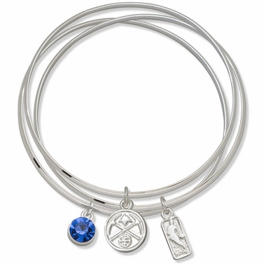 Denver Nuggets Triple Bangle Bracelet