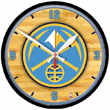 Denver Nuggets Wall Clock