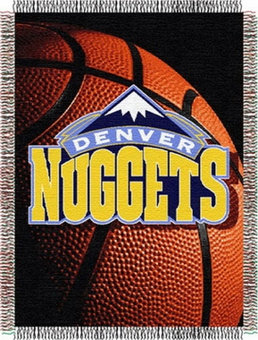 Denver Nuggets Woven Tapestry Blanket
