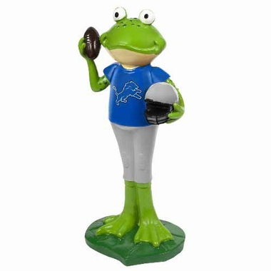 Detroit Lions 12 Inch Frog Player Figurine