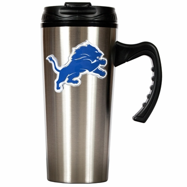Detroit Lions 16 oz. Thermo Travel Tumbler (Slim)