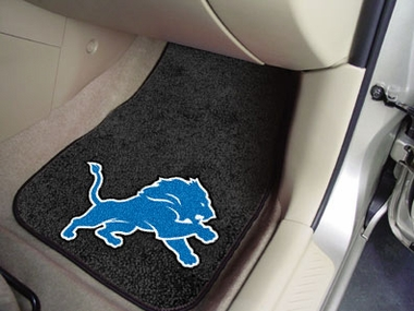 Detroit Lions 2 Piece Car Mats