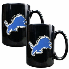 Detroit Lions 2 Piece Coffee Mug Set