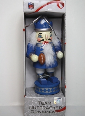 Detroit Lions 2012 Nutcracker Ornament