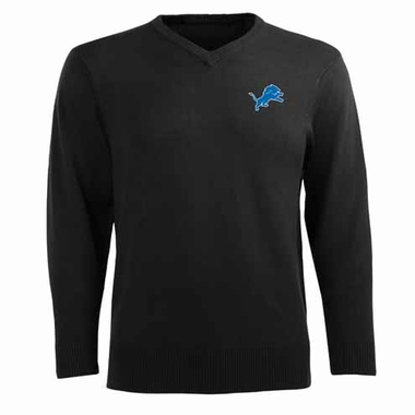 Detroit Lions Mens Ambassador Sweater (Team Color: Black)