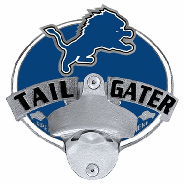 Detroit Lions Bottle Opener Hitch Cover