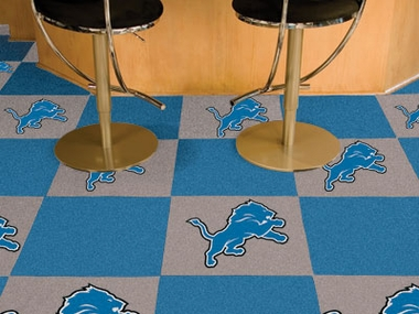 Detroit Lions Carpet Tiles