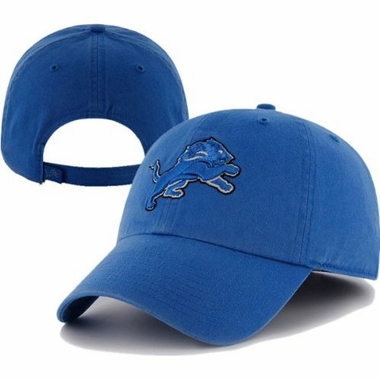 Detroit Lions Cleanup Adjustable Hat