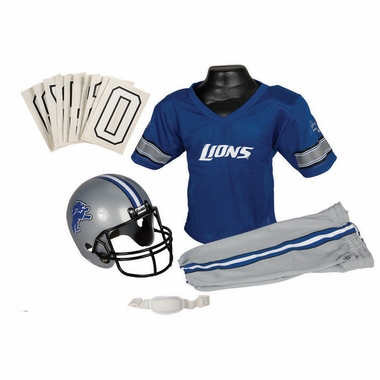Detroit Lions Deluxe Youth Uniform Set