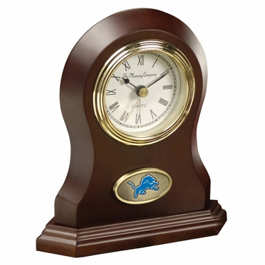 Detroit Lions Desk Clock