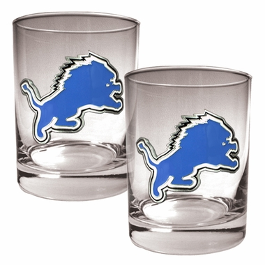 Detroit Lions Double Rocks Set
