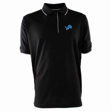 Detroit Lions Mens Elite Polo Shirt (Team Color: Black)