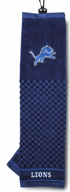 Detroit Lions Embroidered Golf Towel