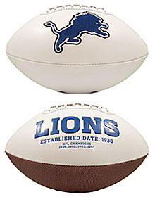 Detroit Lions Embroidered Signature Series Football