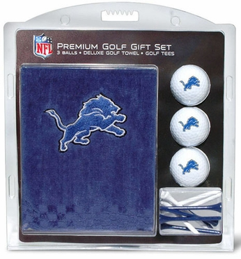 Detroit Lions Embroidered Towel Gift Set