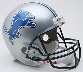 Detroit Lions Full Sized Replica Helmet