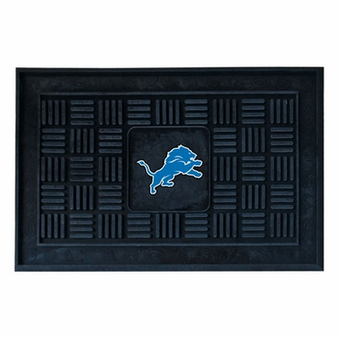 Detroit Lions Heavy Duty Vinyl Doormat