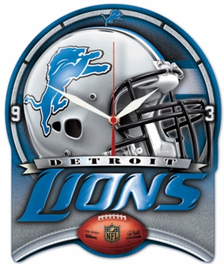 Detroit Lions High Definition Wall Clock