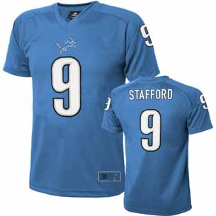 Detroit Lions Matthew Stafford Youth Performance T-shirt - Large