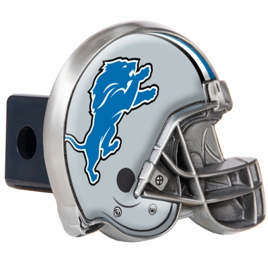 Detroit Lions Metal Helmet Trailer Hitch Cover