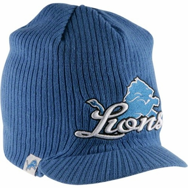 Detroit Lions New Era NFL Retro Viza Visor Knit Hat