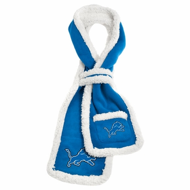 Detroit Lions NFL Team Sherpa Scarf
