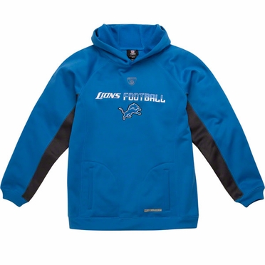 Detroit Lions NFL YOUTH Endurance Performance Pullover Hooded Sweatshirt