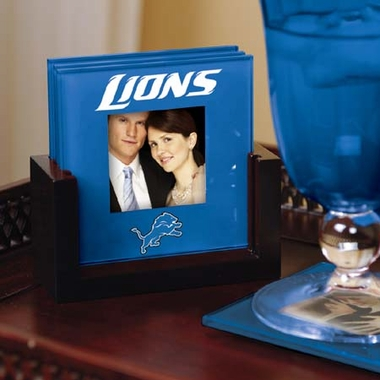 Detroit Lions Photo Coaster Set