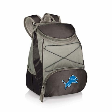 Detroit Lions PTX Backpack Cooler (Black)