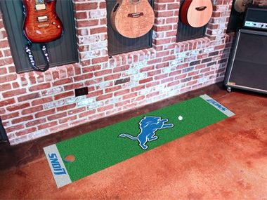 Detroit Lions Putting Green Mat