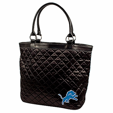Detroit Lions Quilted Tote